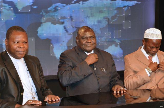Dieudonné_Nzapalainga,_Nicolas_Guérékoyame_Gbangou_et_Omar_Kobine_Layama